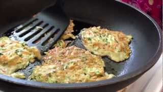 Sweet Potato & Zucchini Fritters - With Random Singing Narration, Because Why Not.