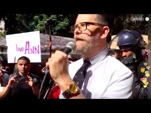 Gavin McInnes Reads Ann Coulter's Speech - UC Berkeley Rally 4/27/17 (April 27th 2017)