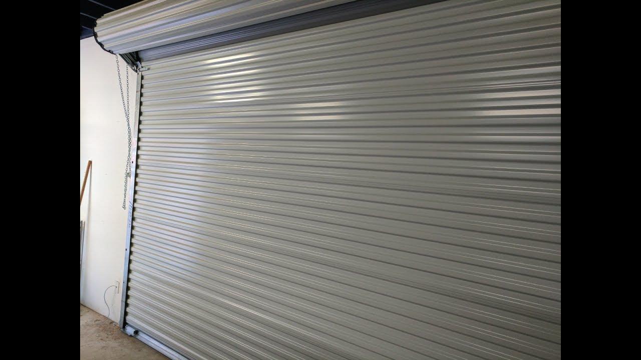 Janus 2500 Commercial Sheet Door Youtube