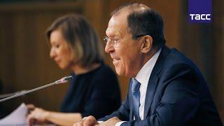 Большая пресс конференция главы МИД РФ Сергея Лаврова  Полная версия