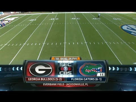 Georgia Bulldogs vs Florida Gators 31/10/2015 Week 9 College Football 2015