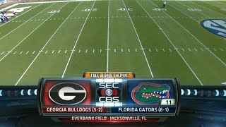 Georgia Bulldogs vs Florida Gators Full game 31/10/2015 Week 9 College Football 2015