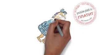 ГУБКА БОБ  Как нарисовать спанч боба видео(ГУБКА БОБ. Как правильно нарисовать спанч боба или губку боба поэтапно. На самом деле легко и просто http://youtu.b..., 2014-09-12T17:38:19.000Z)