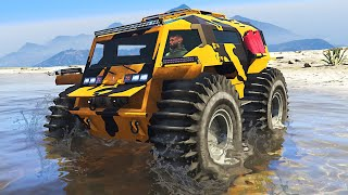 New TANK can DRIVE ON WATER in GTA 5! (NEW DLC)