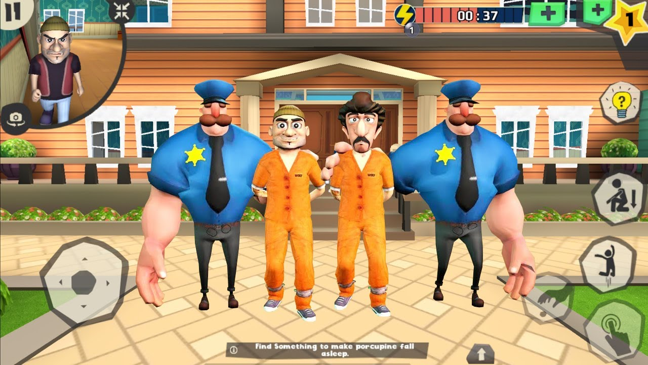 Scary Robber Home Clash _New Update (RASH ATTACK,STICKING AROUND)  New Prank Funny Game Android/IOS
