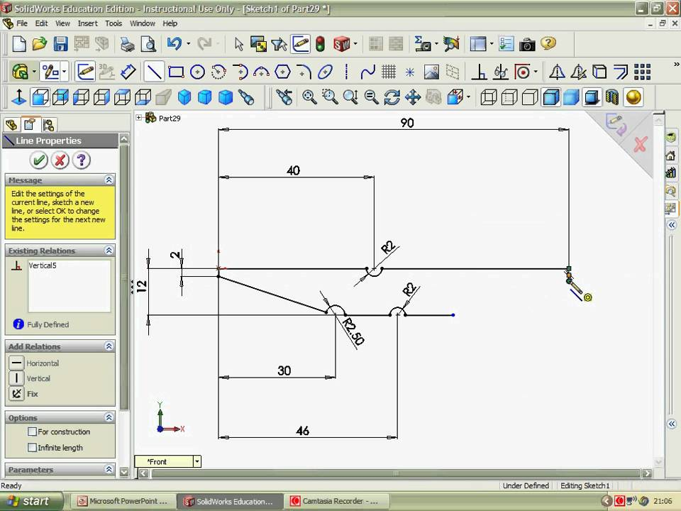 Solidworks Clothes Peg 3d Cad Youtube