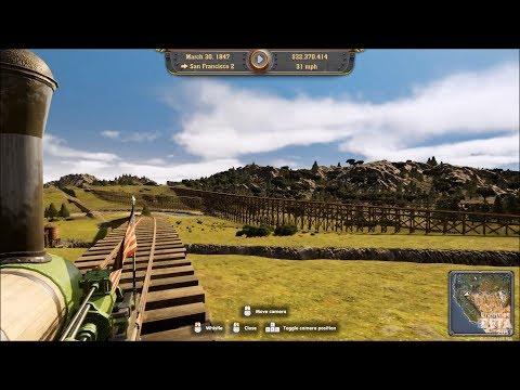 Railway Empire - Dunham 4-2-0 (1834) - Test Ride Gameplay (PC HD) [1080p60FPS]  