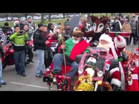 Chicago Toys For Tots Marine Corp Motorcycle Ride Youtube