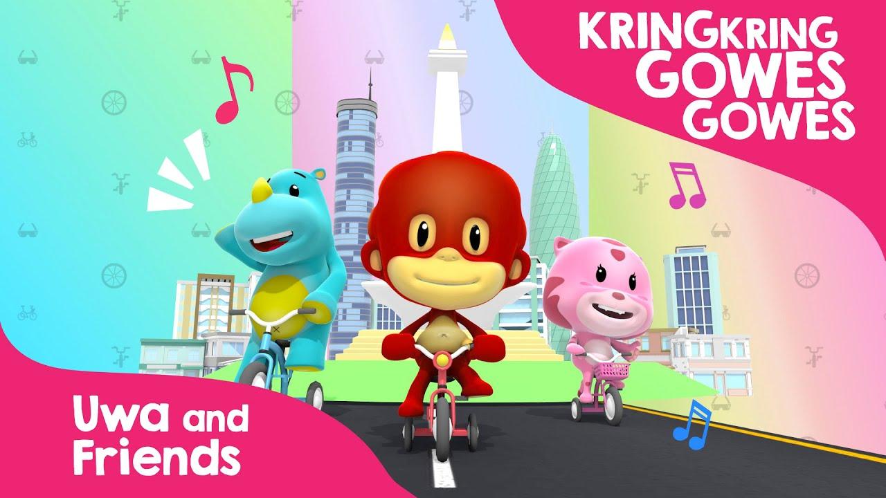 Download Kring Kring Gowes Gowes  - Lagu Anak Indonesia Bersepeda