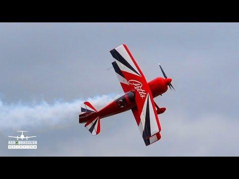Incrível Decolagem Pitts Model 12 | Amazing Takeoff | Itápolis Air Show 2016 | Incredible Takeoff