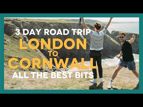 LONDON To CORNWALL ROAD TRIP - Ft. Jesse's Birthday And Our Girlfriends!