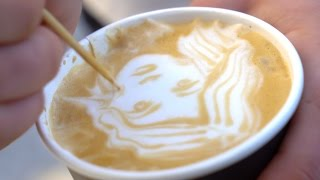 Sourced: Get your portrait on a coffee at Tokyo Smoke
