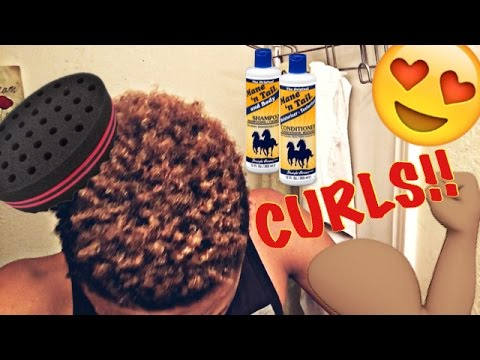 How to: Curly Hair for Black Men (UPDATED) | Hair Update