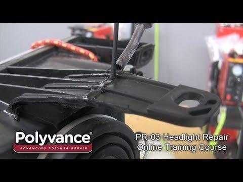 Polyvance's PR-03 Headlight Tab Repair Training Course