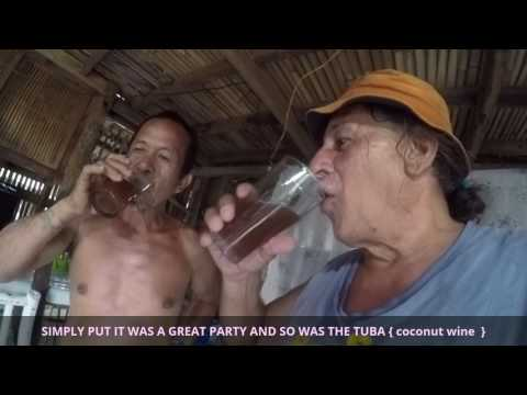 PHILIPPINES FIESTA BOHOL PANGLAO PT 2 Jonas Michael and Daisy Mae AMAZING DELICIOUS FIESTA FEAST