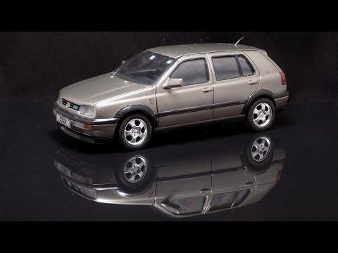 Volkswagen Golf GTI 1/24 Fujimi 1992 - YouTube
