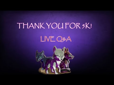 THANKS FOR 5K! | LIVE Q&A
