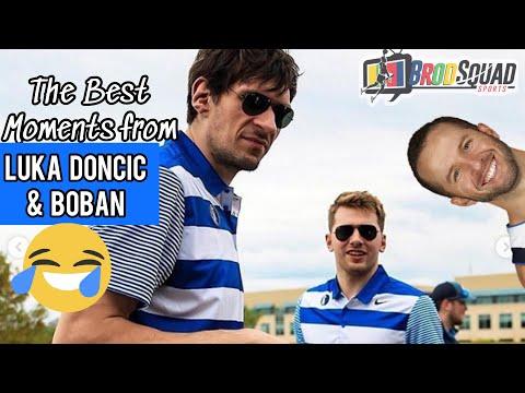 Luka Doncic & Boban Marjanovic Funny Moments