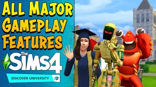 Learn Major Gameplay Features in this Discover University Deep Dive (Sims 4 Livestream Summary)