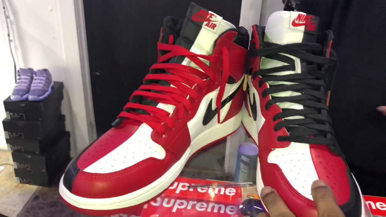 139439609ce2f3 Homage 2 Home Jordan 1 Chicago Release Early Look!! - YouTube