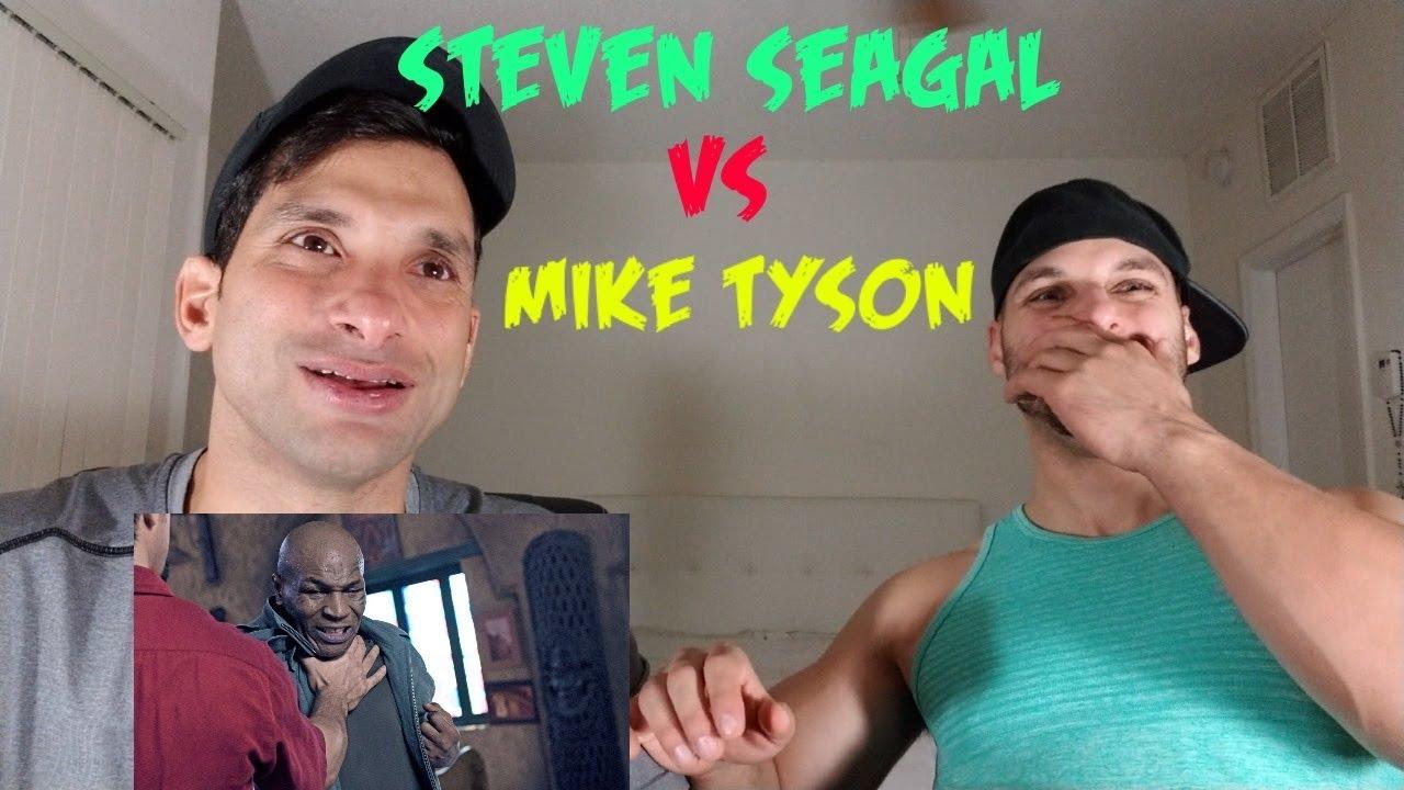Download Mike Tyson vs Steven Seagal Fight Scene [REACTION]