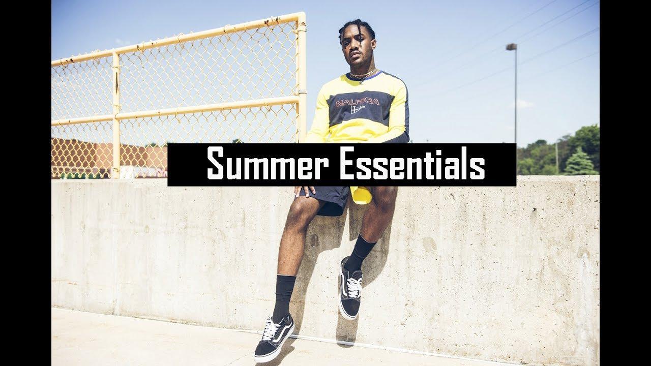 0d2b3de7e Men's Summer Fashion Essentials 2017 | Affordable Streetwear Essentials