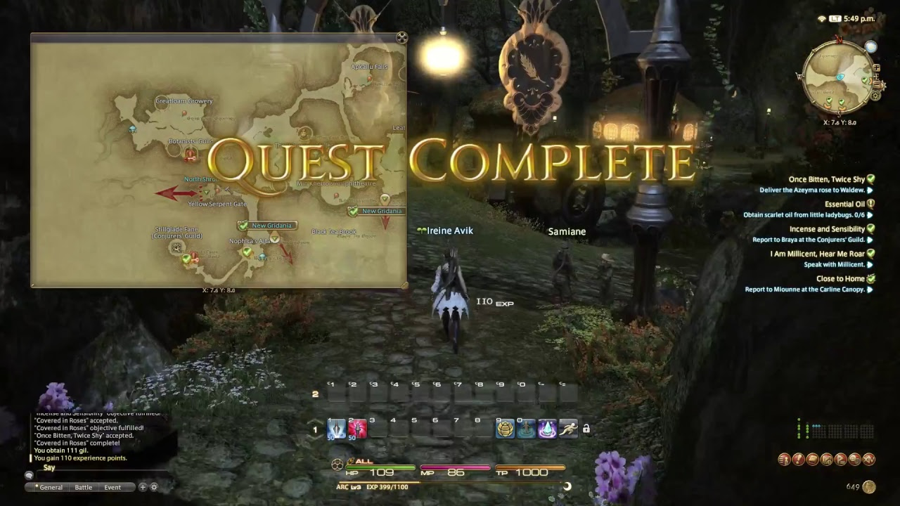 FFXIV Demo #1 - Free Trial with Level Cap 35