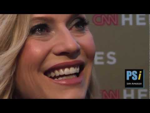 Emily Procter  CSI  I Want More Action  CNN Heroes Red Carpet Quote