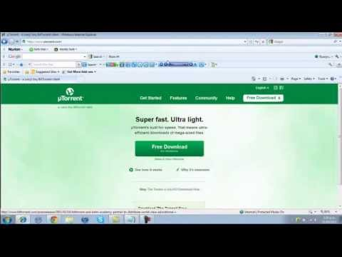 how to download movies using utorrent software