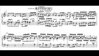 W.A.MOZART: Praeludium (Fantasie) und Fuge in C KV 394 (G.Cascioli, piano)