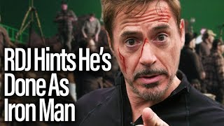 Robert Downey Jr. Hints He