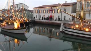 presepe sulle barche a cesenatico