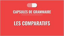 Les comparatifs en français