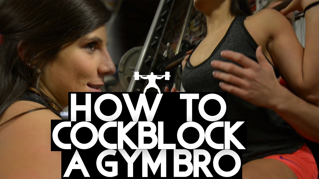 how to cock block