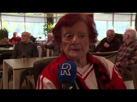 Ajax-Feyenoord (4-0) ook deceptie voor verzorgingshuis IJsselmonde