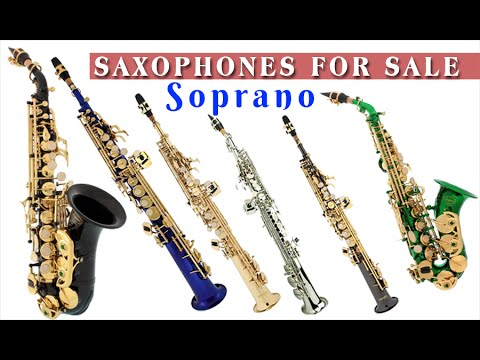 soprano saxophone for sale curved and straight youtube. Black Bedroom Furniture Sets. Home Design Ideas