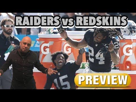 Raiders vs Redskins Week 3 (Preview) Marshawn Dance