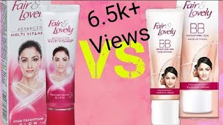 Fair and lovely BB Cream review | demo | Instant fair look | 2019