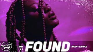 Download Tems - Found (Lyrics) ft. Brent Faiyaz