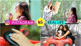 Instagram vs Real Life | Hacks For Taking Perfect Photos | #Teenagers #Ideas #Fashion #Anaysa