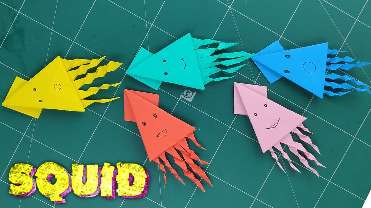 Origami Ocean Sea Animals Tutorial - YouTube | 720x1280