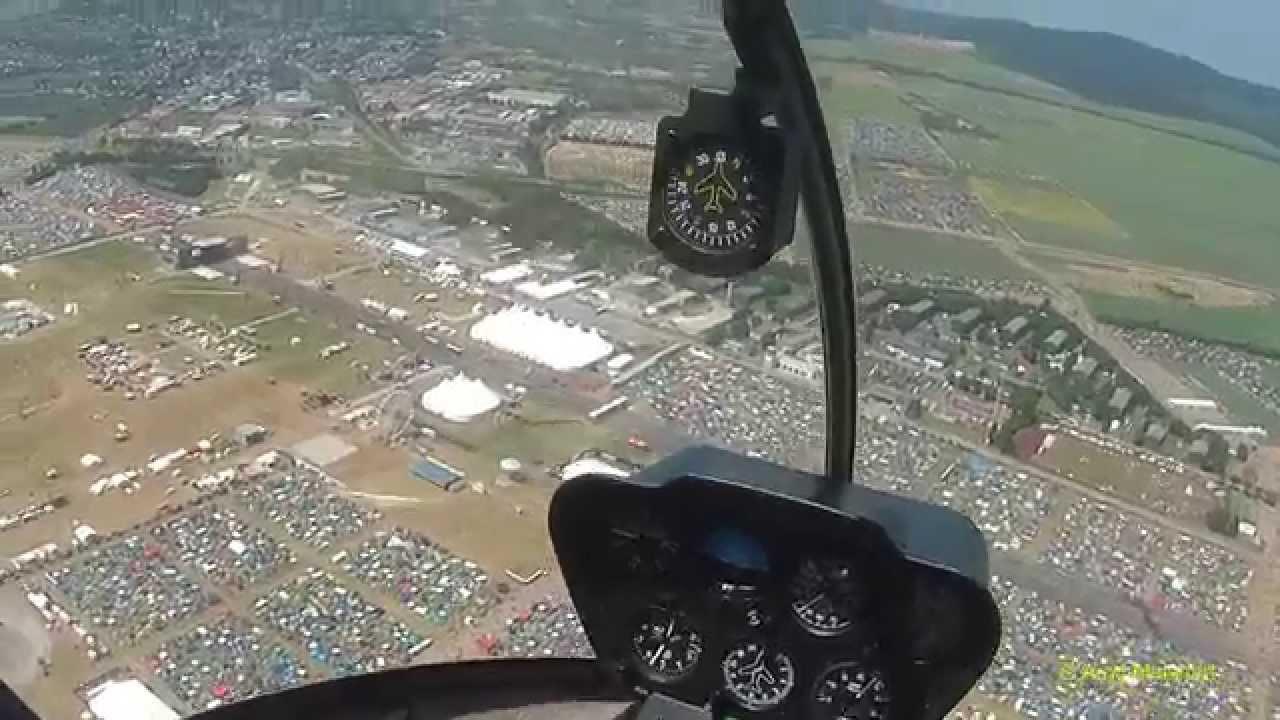 Heliflug über Rock Am Ring 2015 Flugplatz Mendig Youtube