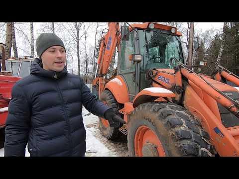 Экскаватор погрузчик за 1.5 млн. рублей.  Коротко о главном!