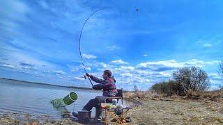 Открытие летнего сезона Рыбалка на фидер Озеро Карагуз