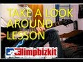 How to play take a look around limp bizkit mission impossible on guitar