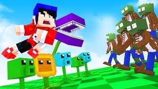 Minecraft : PLANTAS VS UMA INVASÃO DE ZUMBIS ! ( Plants Vs Zombies ) « Nitro »