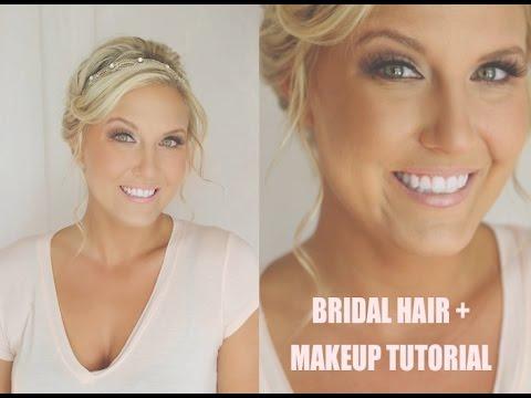 IN DEPTH Bridal Hair and Makeup Tutorial