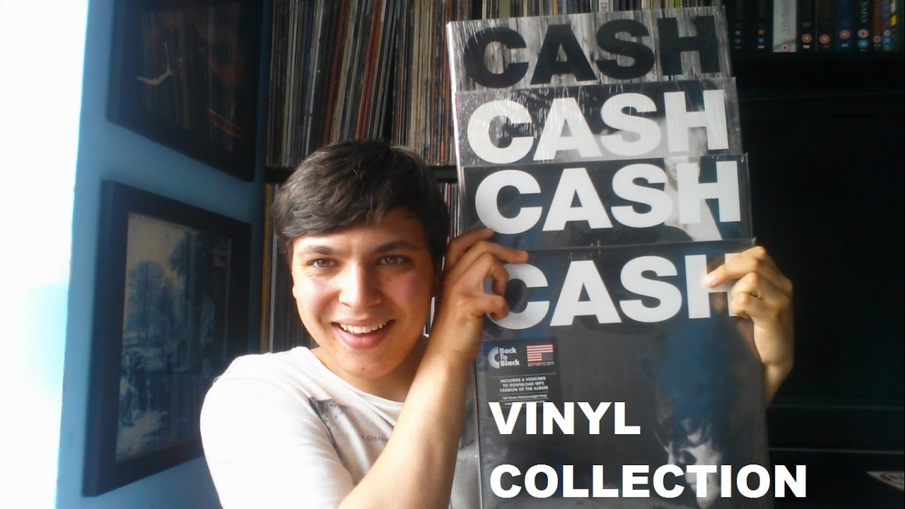 Johnny Cash American Recordings Vinyl Collection
