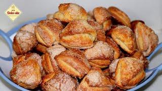 Вкусное печенье ПОЦЕЛУЙЧИКИ. Печенье творожные треугольники. Рецепт домашнего печенья.Моя Dolce vita