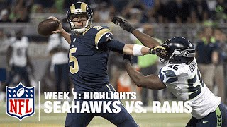 Seahawks vs. Rams | Week 1 Highlights | NFL